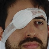 Sterile Eye Pad with Bandage