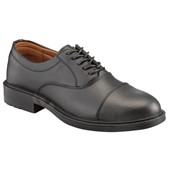 Executive Leather Oxford Safety Shoe