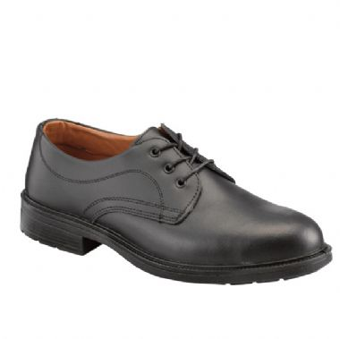 Executive Smooth Leather Safety Shoe - Size 12
