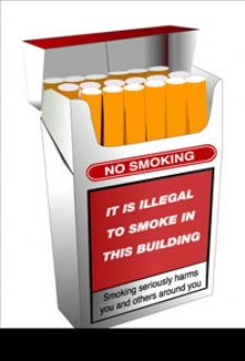 No smoking it is illegal..