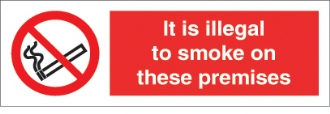 It is illegal to smoke on...premises