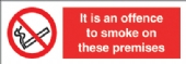 It is an offence to smoke on..premises