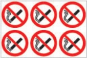 24 No smoking symbols