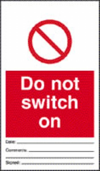 do not switch