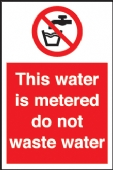 this water is metered