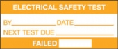 electrical safety test (500/roll)