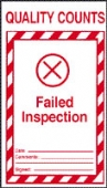 failed inspection (pack of 10)