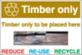 Timber Only foamex WALL