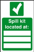 spill kit located