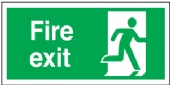 fire exit (man right)