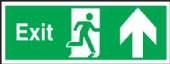 exit arrow up