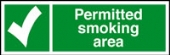 permitted smoking area