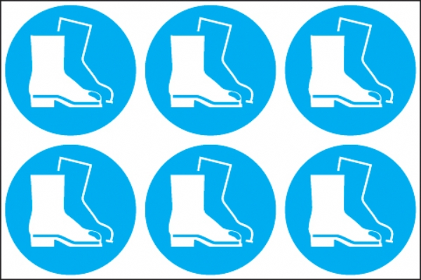 Boots symbol  (24 pack) 6 to sheet