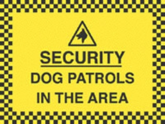 dog patrols in the area