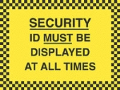 id must be displayed at all times