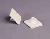 adhesive backed ceiling hooks (pack 10)