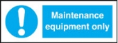 maintenance equipment only (pack of 10)