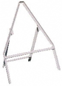 high triangular frame grey angle iron/clips