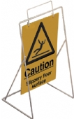 caution slippery floor/cleaning in prog..(sign only)