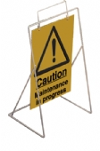 caution maintenance in progress  (sign only)