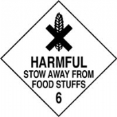 harmful stow away from foods