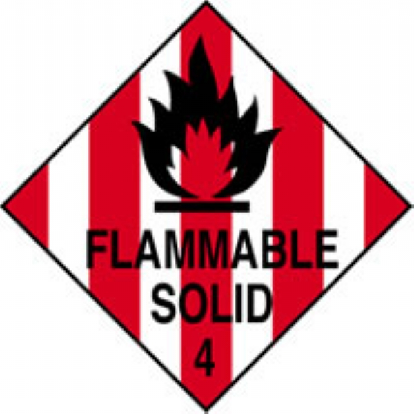 Flammable Solid Safetec Direct Ltd