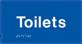 toilets  (white & blue)