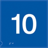no.10 (white & blue)