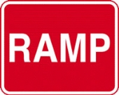 ramp c/w channel