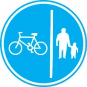 pedestrians cyclistsc/w channel