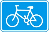 cyclists with channel