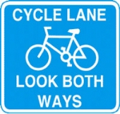 cycle lane with channel