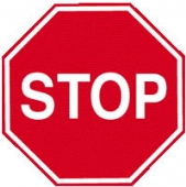 stop without channel  octagon