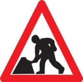 men at work ahead symbol