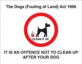 the dogs (fouling of land) act1996 without channel
