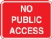 no public access with chanel