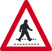 pedestrian crossing no channel