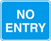 no entry with channel