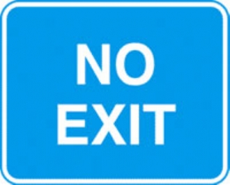 no exit with channel