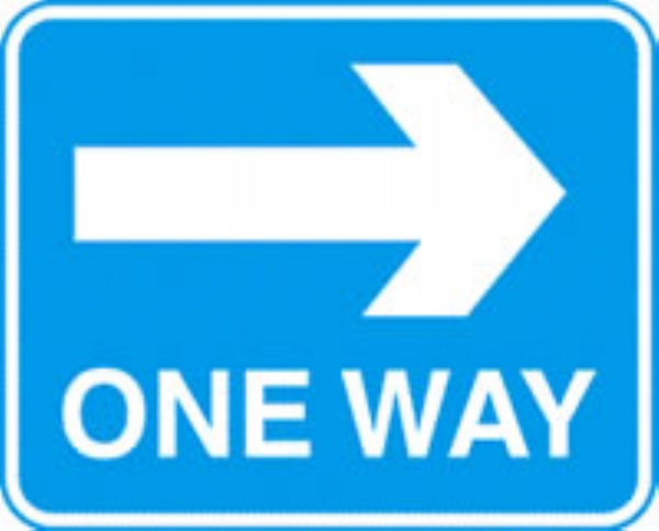 one way right with channel