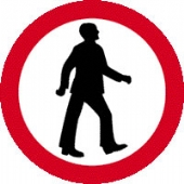 pedestrians  without channel