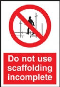 Do not use scaffolding..