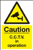 warning cctv in operation (ali) with channel