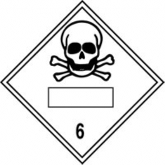 new regulation placard toxic 6