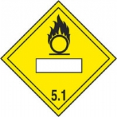 new regulation placard oxidising 5.1