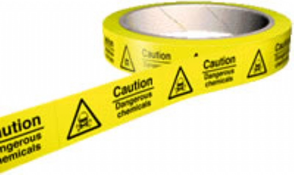 caution dangerous chemicals