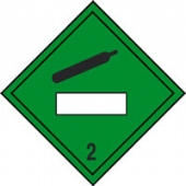 new regulation placard compressed gas 2