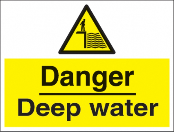 danger deep water c/w channel