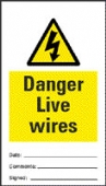 10 pack danger live wires