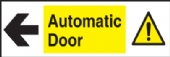 automatic door left